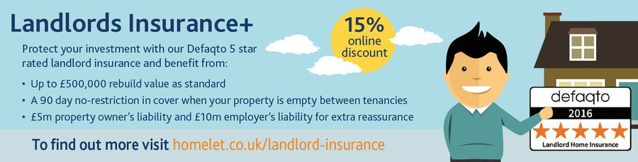 Recommended Landlords' Insurance from HomeLet